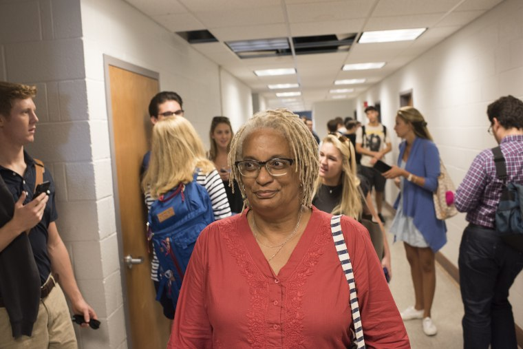 Image: Melisande Colomb, 63 attends Georgetown University