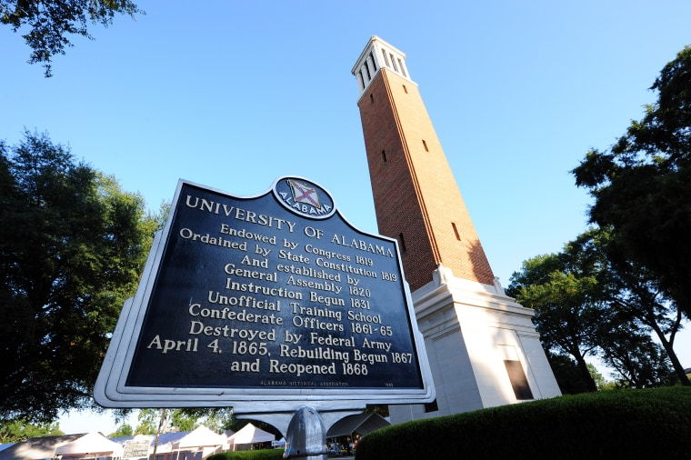 Image: University of Alabama Campus