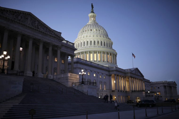 Image: Senate Debates Passage Of Continuing Resolution As Shutdown Deadline Looms