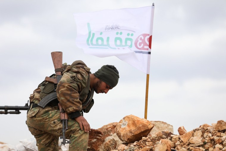 Image: Syrian rebel fighter
