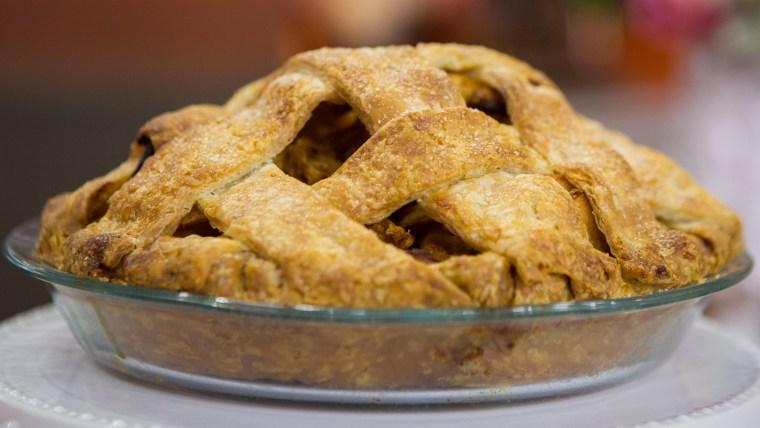 Melissa Clark's Apple Pie with Dulce de Leche + Double-Chocolate Cream Pie