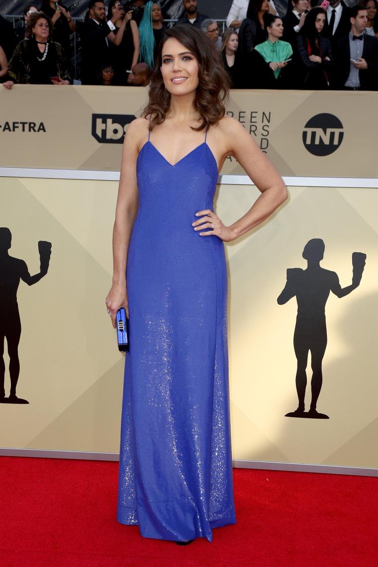 Mandy Moore SAG Awards photo