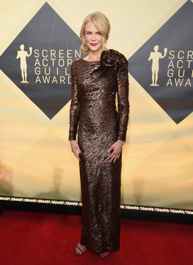 Nicole Kidman at the 2018 SAG Awards