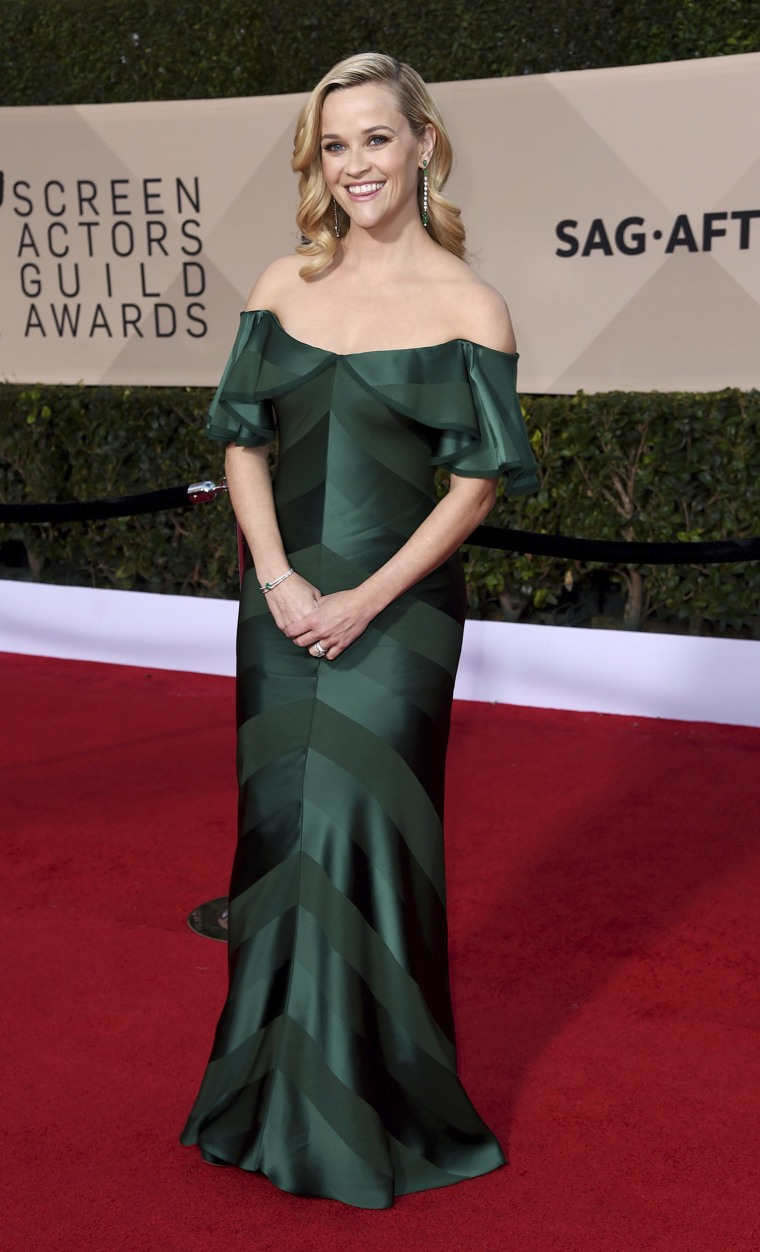 Reese Witherspoon at the 2018 SAG Awards