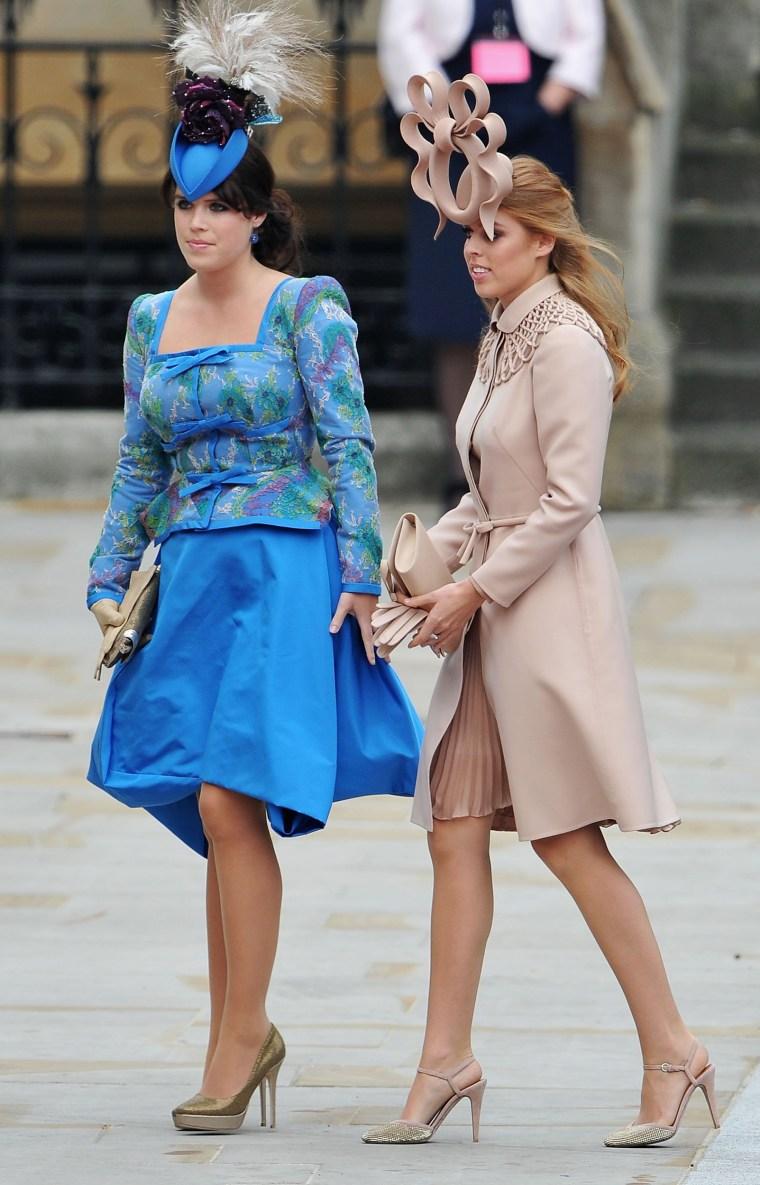 Princess Eugenie of York and Princess Beatrice