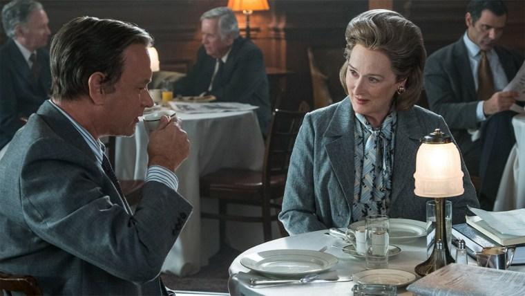 Meryl Streep and Tom Hanks in 'The Post'