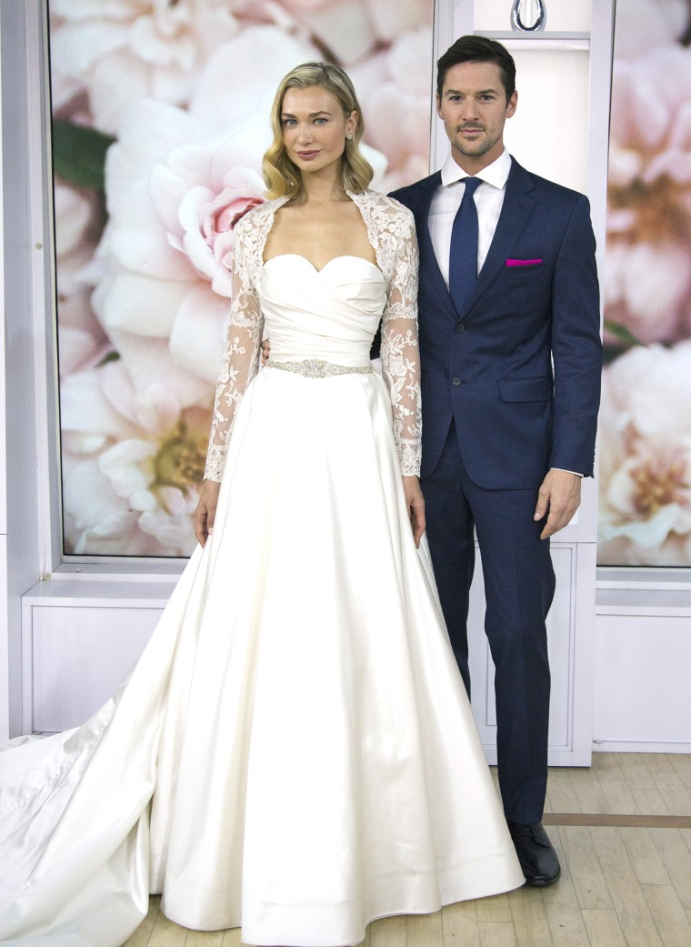 TODAY wedding 2018: See the winning wedding dress
