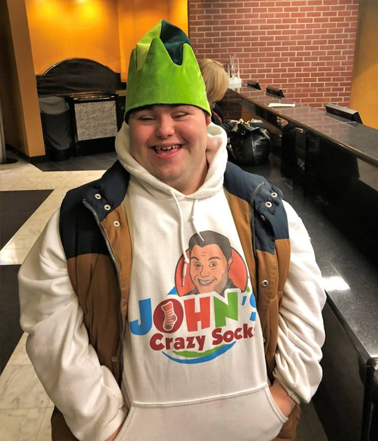 John Cronin knew he wanted to start a business with his dad after he graduated from high school. His love of wild socks became the foundation for the business John's Crazy Socks, which has generated over $1 million in revenue.
