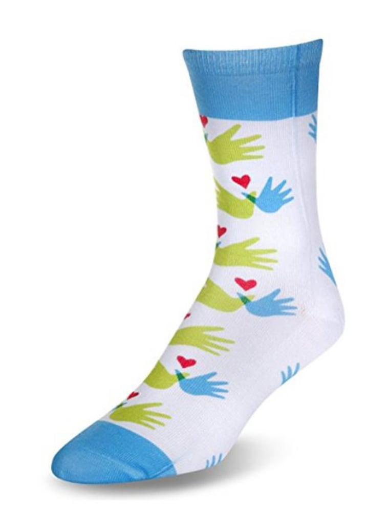 These socks, $12, raise awareness (and funds) for Williams Syndrome.