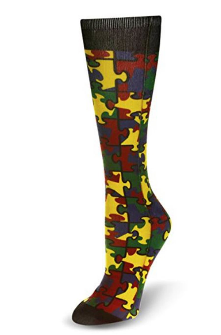 This style, $15, represents autism awareness.