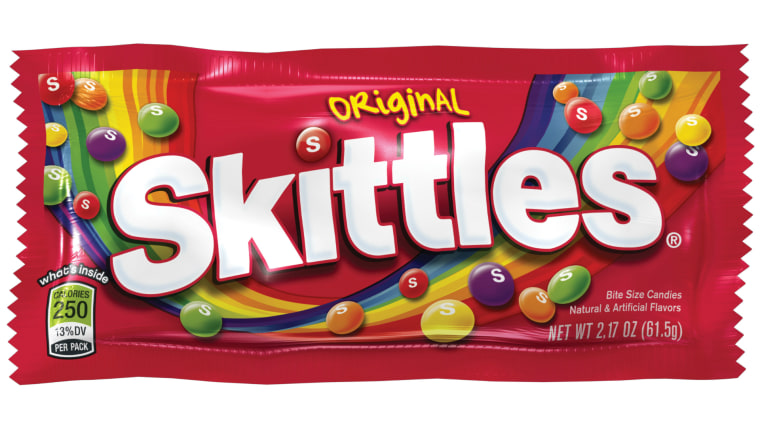 Skittles Myth Are Red Yellow And