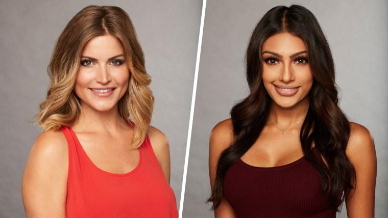 "Marikh Mathias (right) accused fellow ""Bachelor"" contestant Chelsea Roy of ""glam-shaming."""