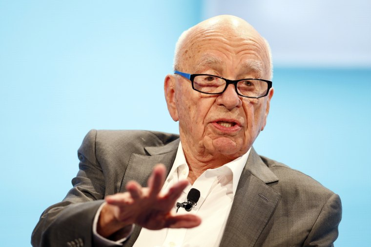 Image: Rupert Murdoch on Oct. 29, 2014
