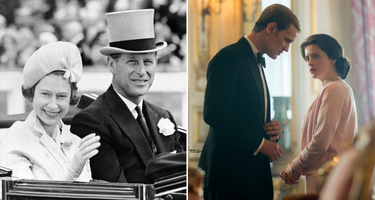 Image: Prince Philip and Queen Elizabeth II