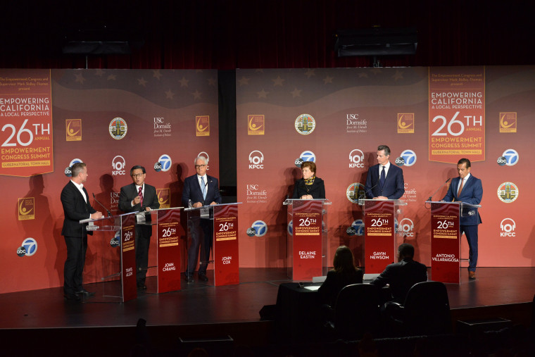 Image: California Gubernatorial Candidates Town Hall