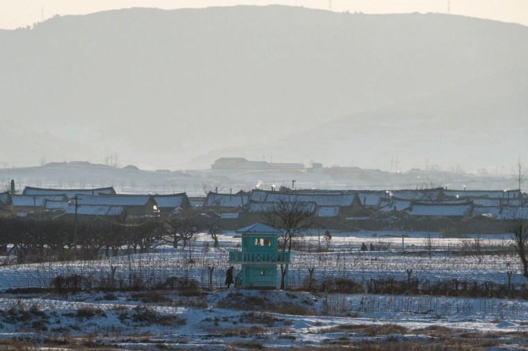 Image: North Korea Guard Post