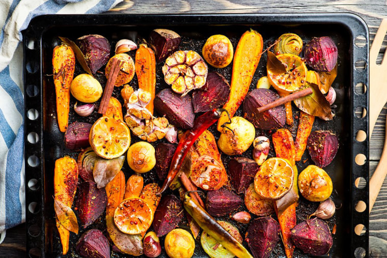 Image: Roasted vegetables