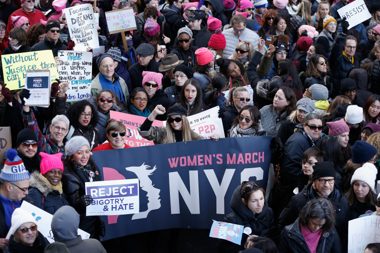 Image: 2018 Women's March On New York City