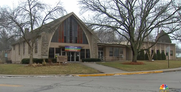 The Unitarian Universalist Church in West Lafayette, Indiana.