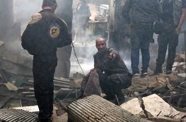 Image: Syrian Civil Defence