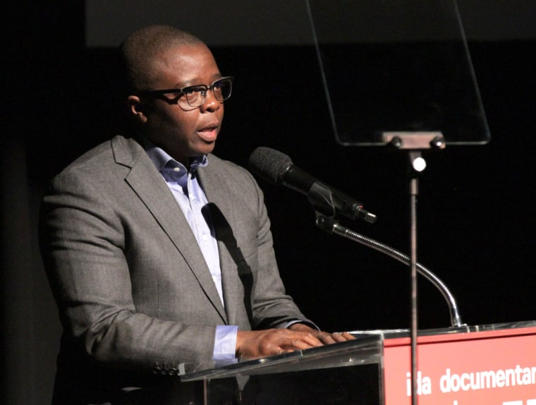 Yance Ford speaks onstage at the 33rd Annual IDA Documentary Awards at Paramount Theatre on December 9, 2017 in Los Angeles, California.