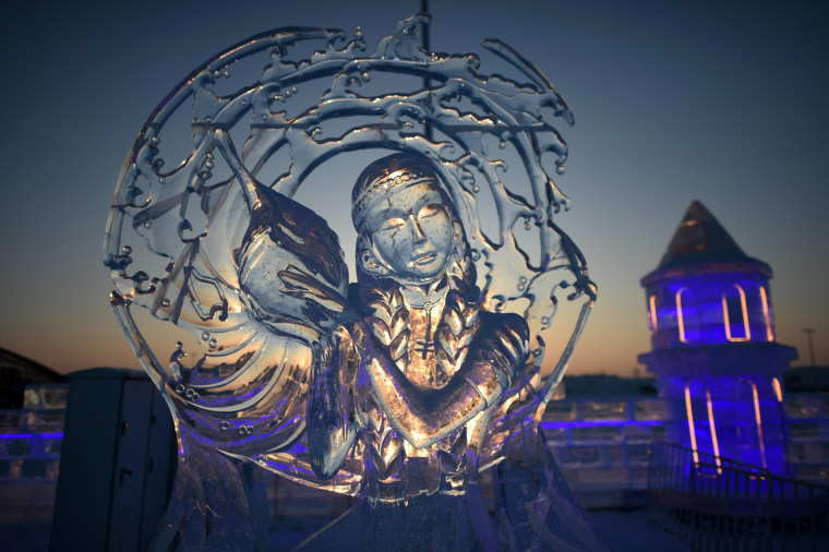 Image: 34th Harbin International Ice and Snow Festival