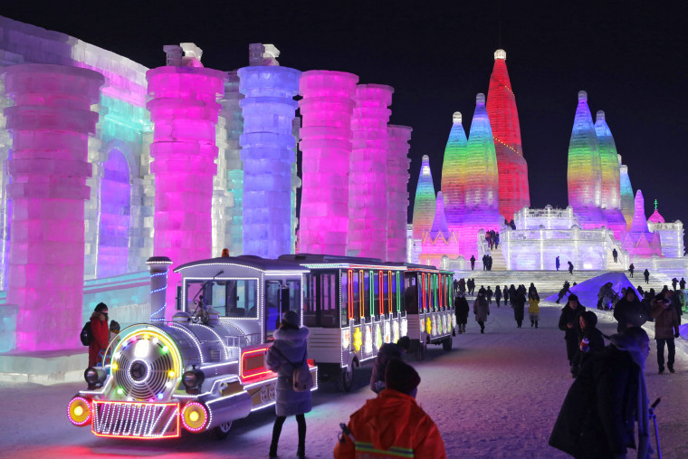 Image: Opening of the 34th Harbin International Ice and Snow Festival