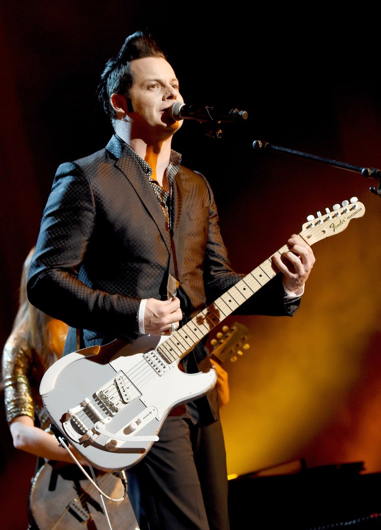 Image: Musician Jack White performs onstage