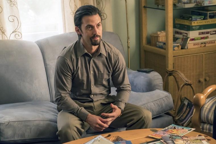 """Image: Milo Ventimiglia as Jack on """"This Is Us."""""""