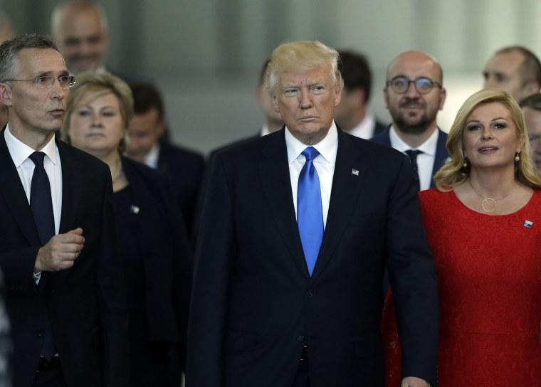 Image: Donald trump NATO
