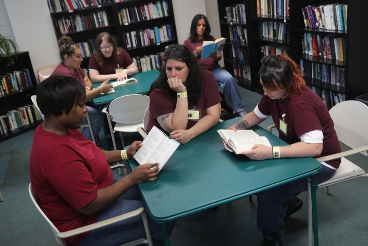 Image: Women's Reintegration Center Prepares Inmates For Life After Prison