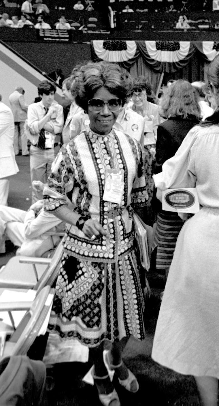 Image: Shirley Chisholm