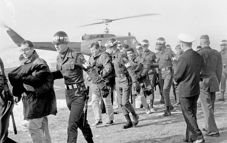 Image: Crewmen of the USS Pueblo in 1968