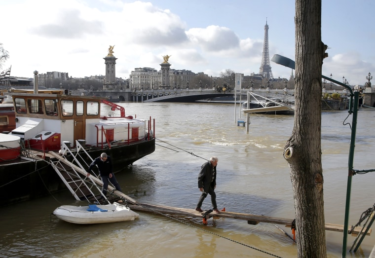 Image: France flooding