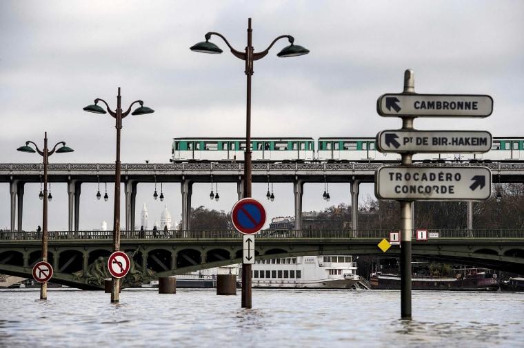 Image: France flooding