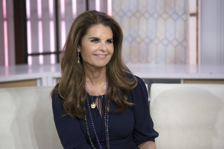 Image: Maria Shriver on Today on Sept. 9, 2017.