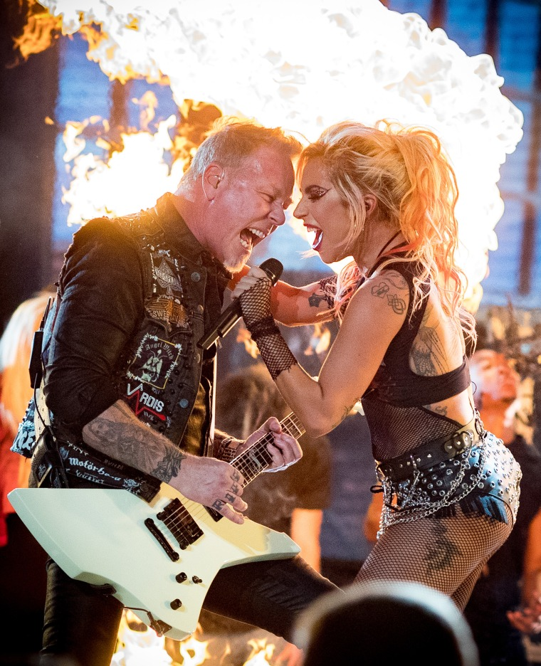 Image: Metallica and Lady Gaga
