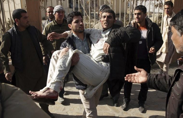 Image: Afghanistan blast