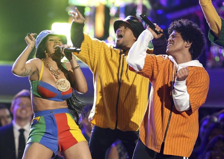 Image: Bruno Mars, Cardi B