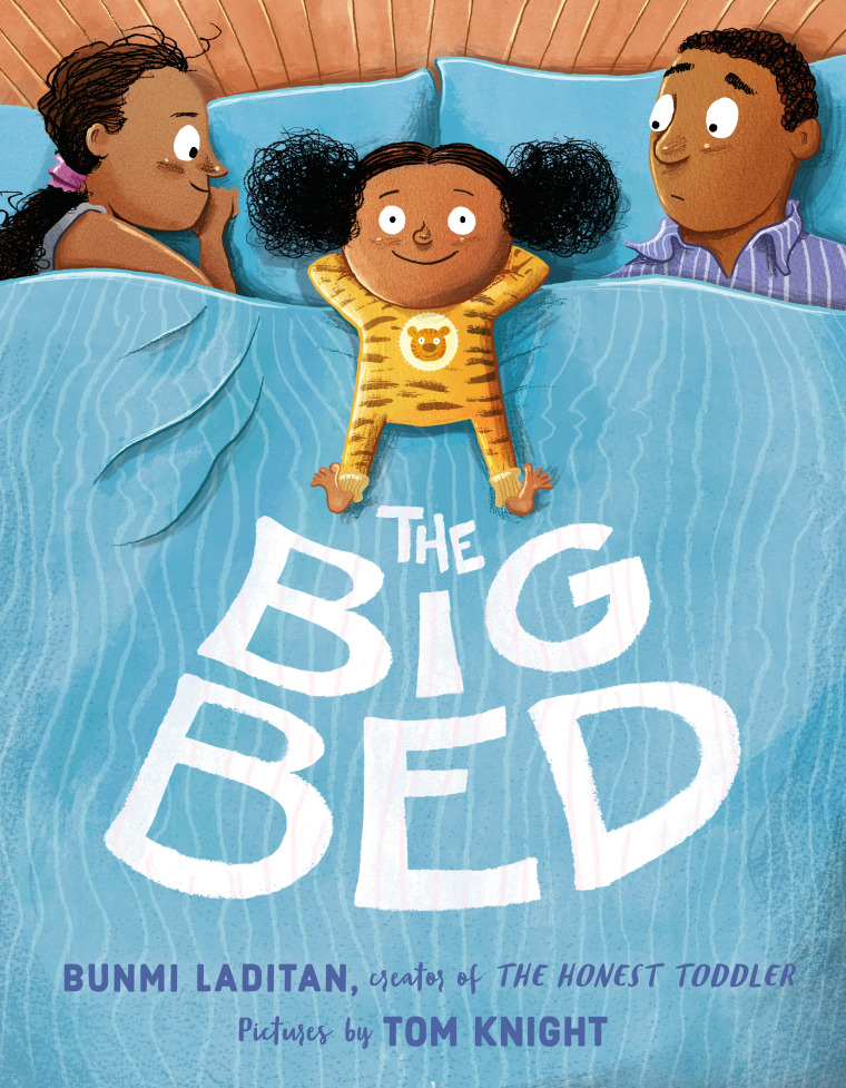 """Laditan's book, """"The Big Bed,"""" is available for purchase starting on February 6, 2018."""
