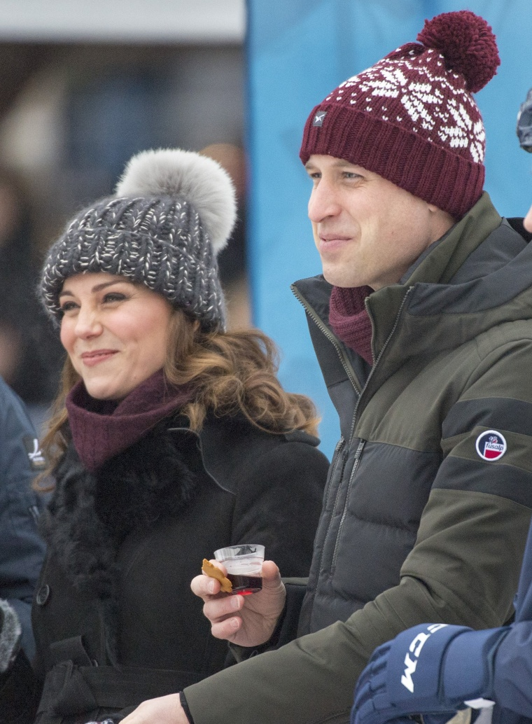 Image: The Duke And Duchess Of Cambridge Visit Sweden And Norway - Day 1