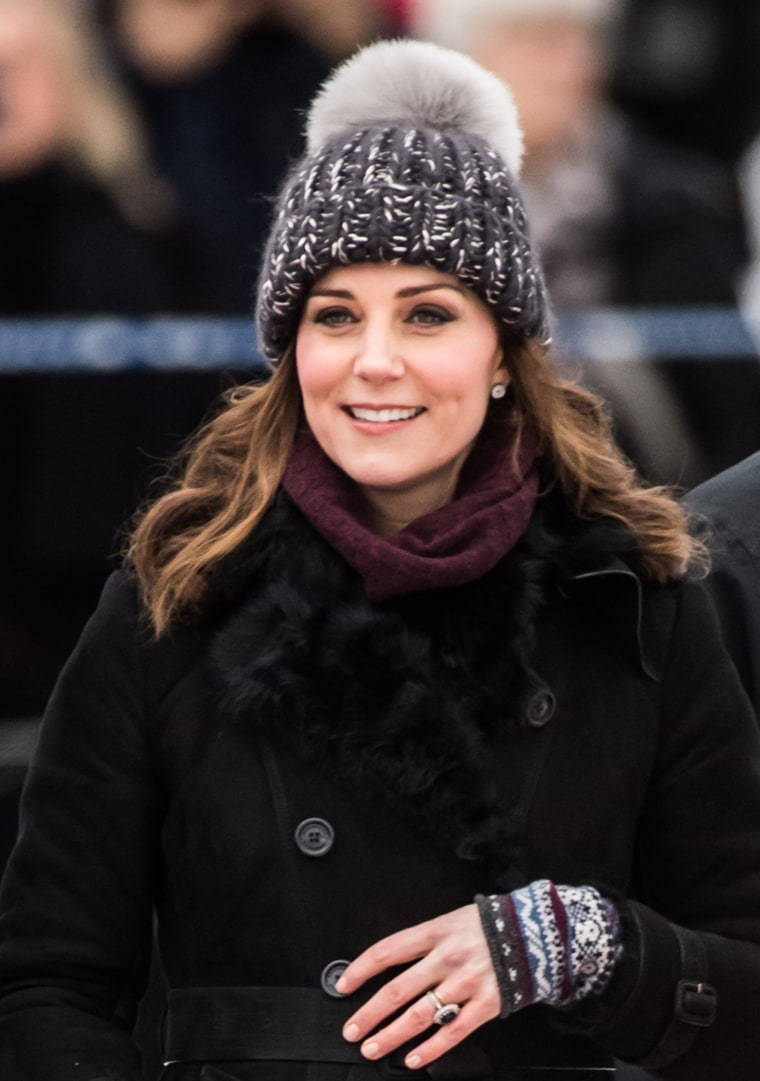 Former Kate Middleton, Duchess of Cambridge, effortless winter style in Sweden
