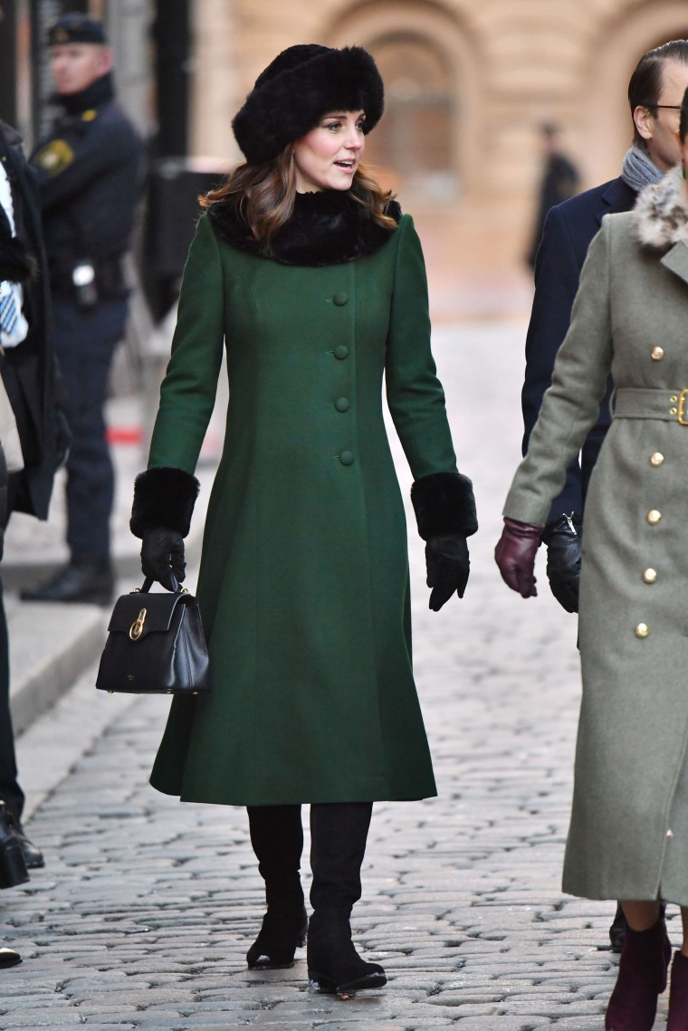 Kate, Duchess of Cambridge, visits Sweden on day 1