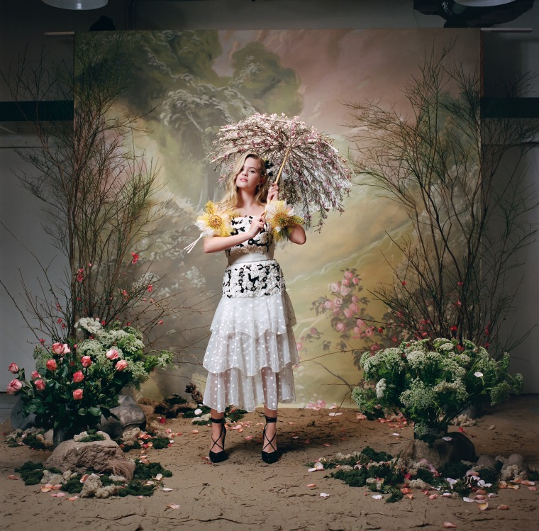 Phillippe's Rodarte photos were dreamy and whimsical.
