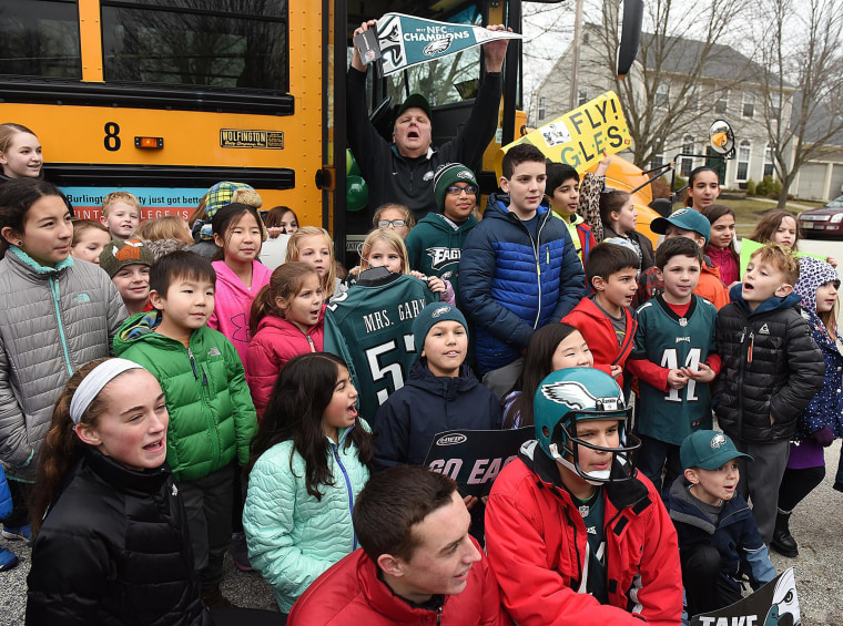Bus driver who got surprised with tickets and a flight to the Super Bowl