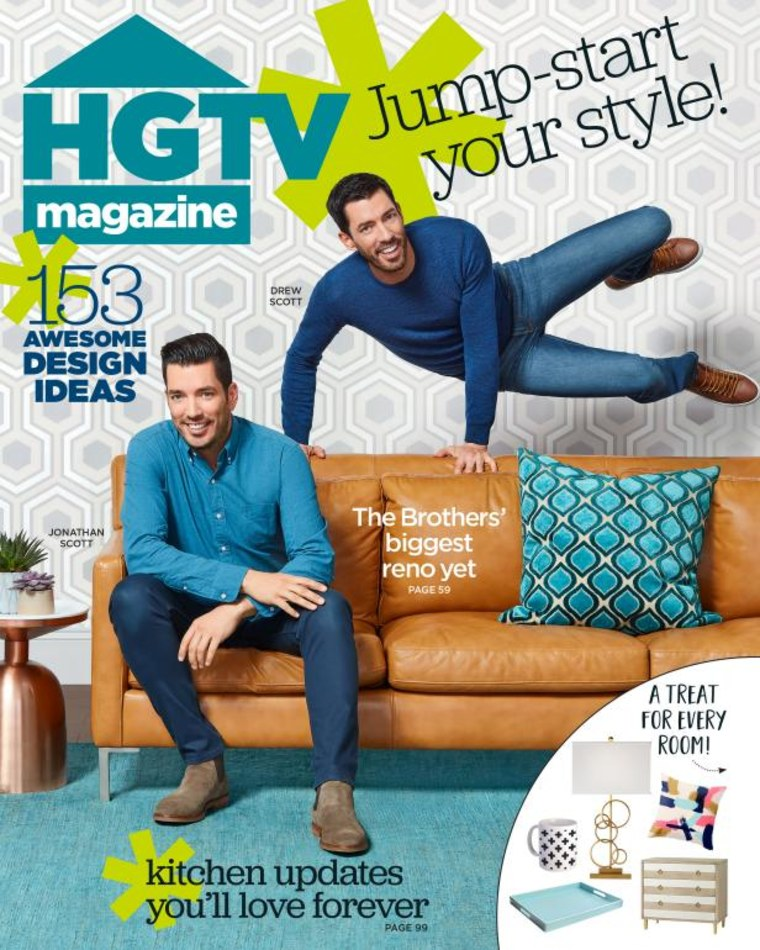 Property Brothers HGTV Magazine