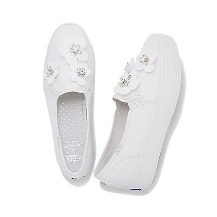 keds wedding shoes keds and kate spade created a sneakers wedding collection 5303