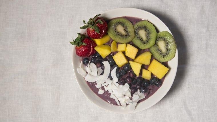Acai Bowls with Tropical Fruit recipe
