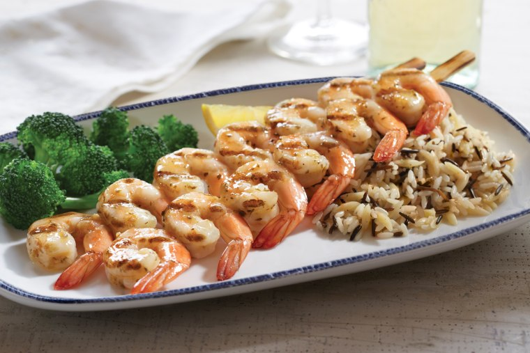 Red Lobster Wood-Grilled Shrimp