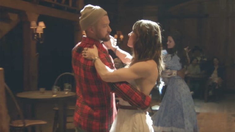 """Justin Timberlake just released his """"Man of the Woods"""" video."""
